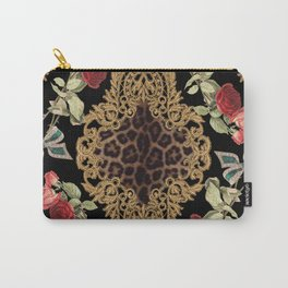 Lace Baroque Carry-All Pouch