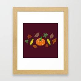 Fall #3 Framed Art Print