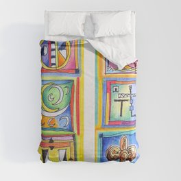 sunday colors Comforters