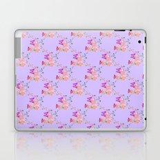 Butterflies Flowers Tiny Hearts Laptop & iPad Skin