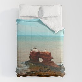 Unique Sandstone  Formation and the Birds Comforters