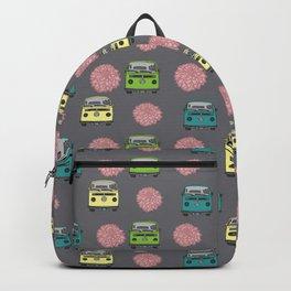 Girly Car Print Backpack