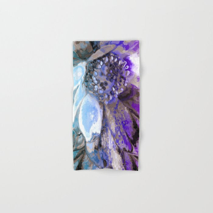 In Sunlight, Lilac and Blue Hand & Bath Towel