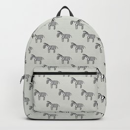 On the savannah - Fabric pattern Backpack