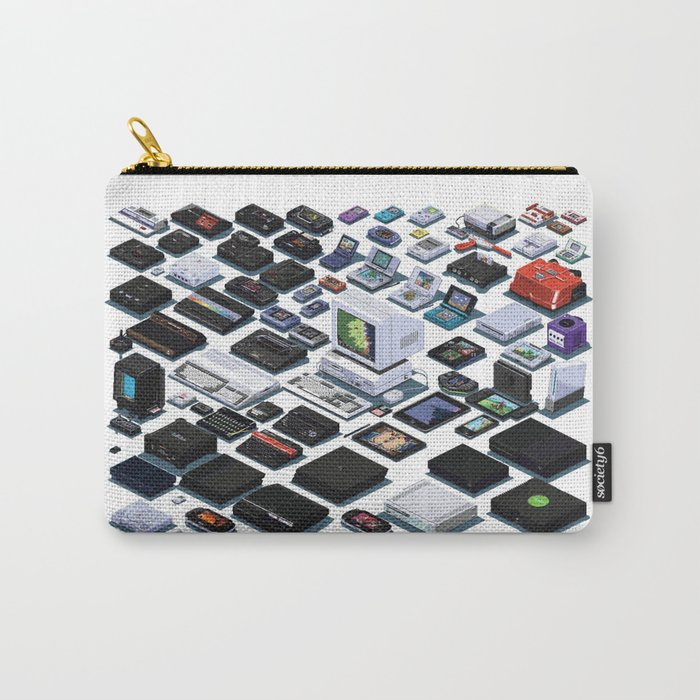 A Pixel Retrospective 2 Carry-All Pouch