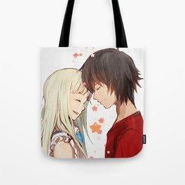 Menma and Jintan - Anohana Tote Bag