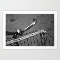 The Bicycle Art Print