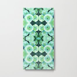 Kermit's Lily Pads (It's Not Easy Being Green) Metal Print