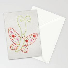 B Butterfly Stationery Cards