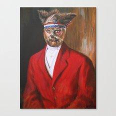I'm A Foxy Lord Canvas Print