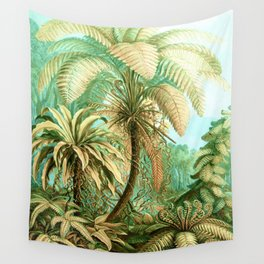 Vintage Tropical #society6 #buyart #painting Wall Tapestry