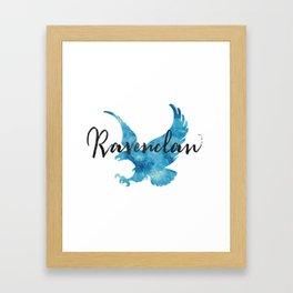 Ravenclaw Hogwarts House Pride Framed Art Print