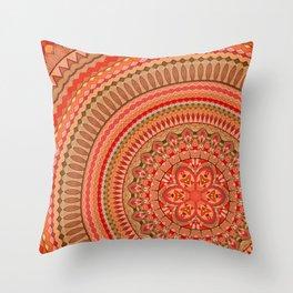 Mandala 48 Throw Pillow