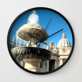 St.Peter Basilica  Wall Clock