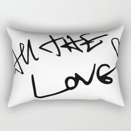 Harry Styles - All the Love Rectangular Pillow