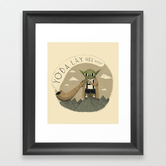 yodaling  Framed Art Print
