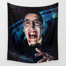 Christopher Lee Dracula Horror Movie Monsters Wall Tapestry