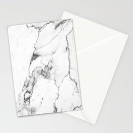 White Marble I Stationery Cards