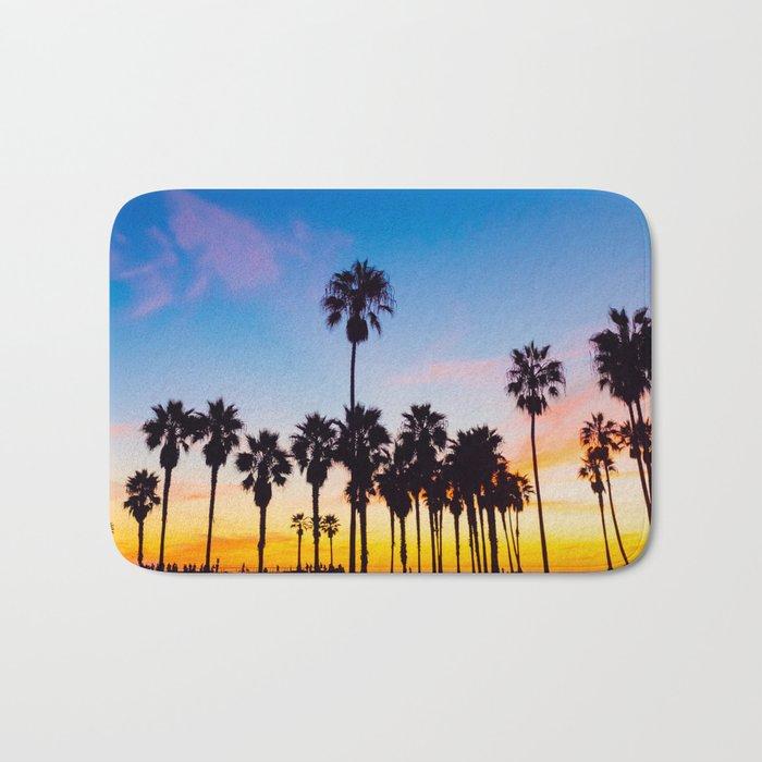 Venice Beach at Sunset Bath Mat
