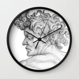 Ignudi. after Michael Angelo Wall Clock