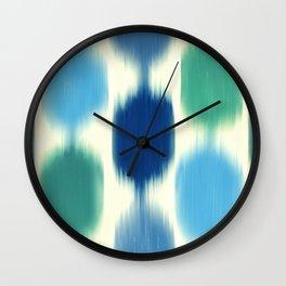 Ikat No. 3 Wall Clock