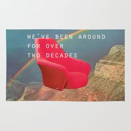 We've been around for over two decades (Red chair and the Grand Canyon) Rug