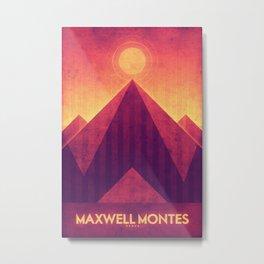 Venus - Maxwell Montes Metal Print