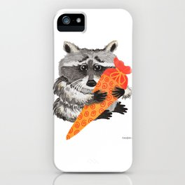 Bear Schultüte Raccoon enrollment school gift iPhone Case