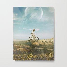 Pedal Metal Print
