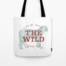 THE WILD THINGS Tote Bag
