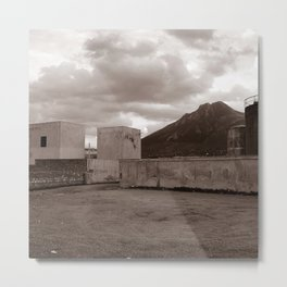 Abandoned Zone of Industry - Sicily - vacancy zine Metal Print