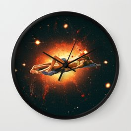 """Recharge energy"" Wall Clock"