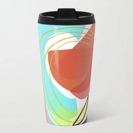 Modern minimal forms 12 Travel Mug