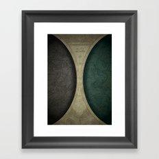 sic itur ad astra Framed Art Print