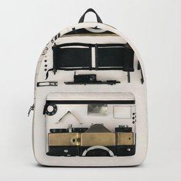 Camera gold Backpack