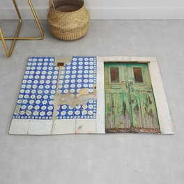 The green door Rug