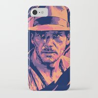 indiana jones iPhone & iPod Cases featuring indiana jones// bad actors v2 by mergedvisible