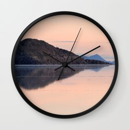 Salar de Uyuni 3 Wall Clock
