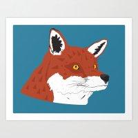 Sundance Fox Art Print