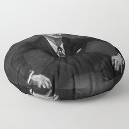 Salvador Dali Art Floor Pillow