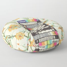VHS & Entry Hall Wallpaper Floor Pillow