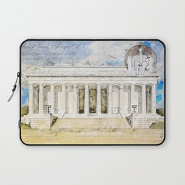 Lincoln Memorial Laptop Sleeve