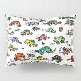 shrimp shrimp shrimp (color) Pillow Sham