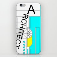 architect iPhone & iPod Skins featuring ARCHITECT-2 by Art-xigo