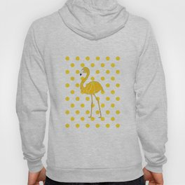 Yellow Flamingo  - Bird Hoody