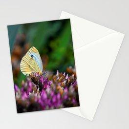 A sunny butterfly Stationery Cards