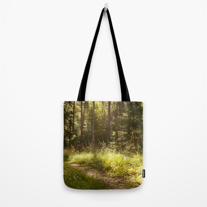 Forest Path Sunny Day #decor #society6 Tote Bag