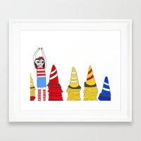 waldo Framed Art Prints featuring Where's Waldo by Thatseelyah