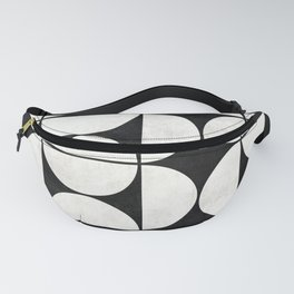 Mid-Century Modern Pattern No.2 - Concrete Fanny Pack