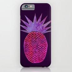 Chevron Pineapple - Purple iPhone 6s Slim Case